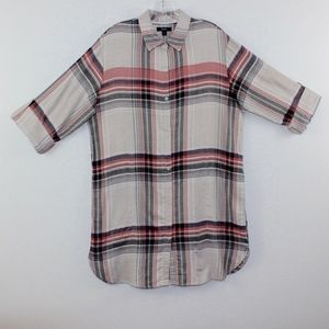 Simply Vera Vera Wang Plaid Flannel Tunic